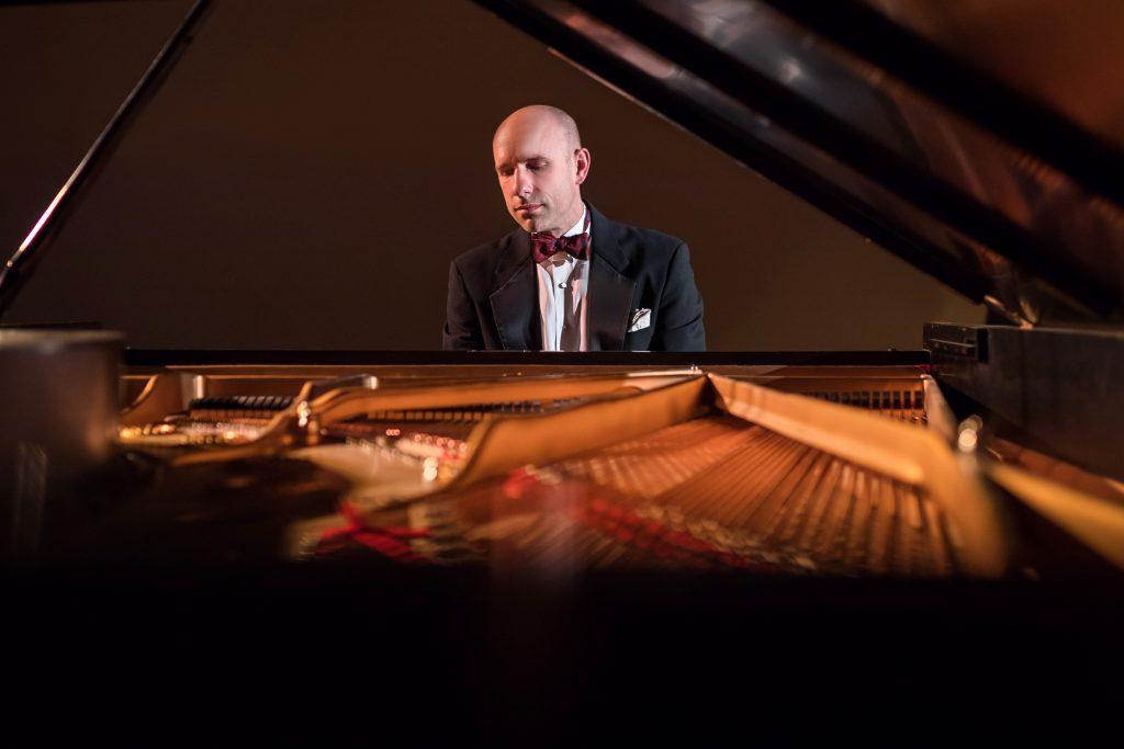 Christopher Taylor. Photo courtesy of PianoArts.