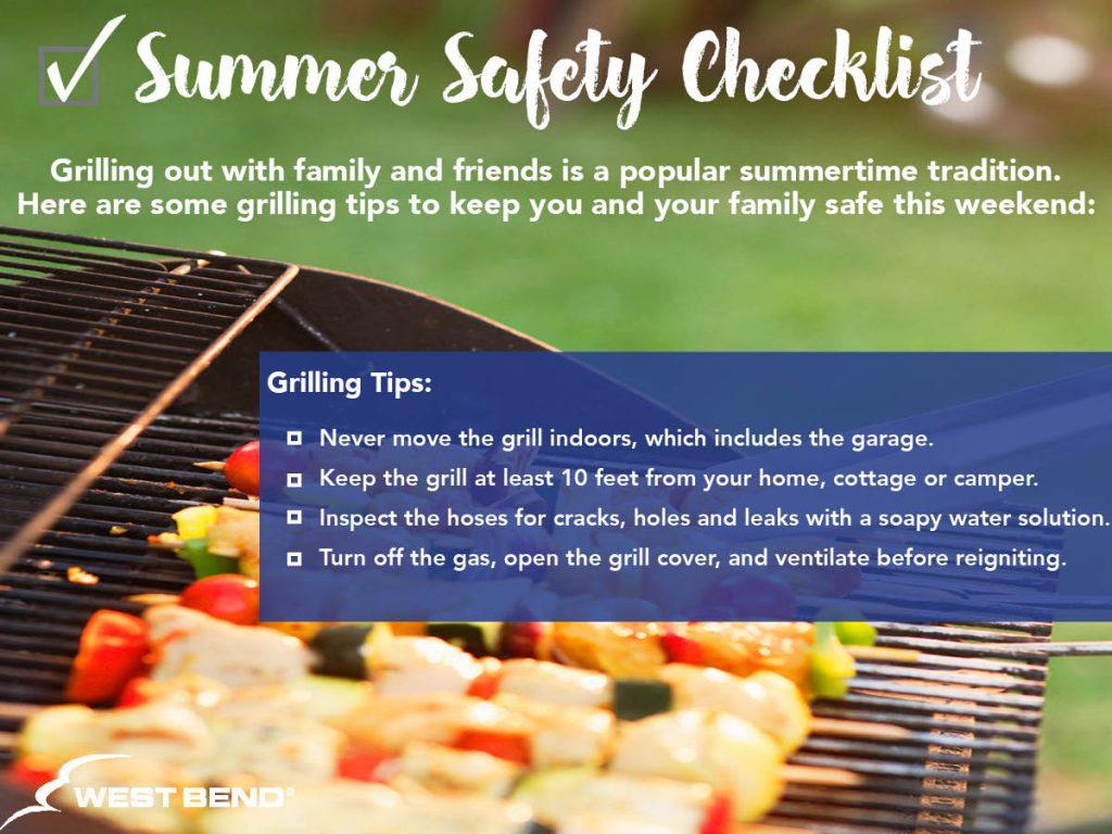 Summer Safety Checklist