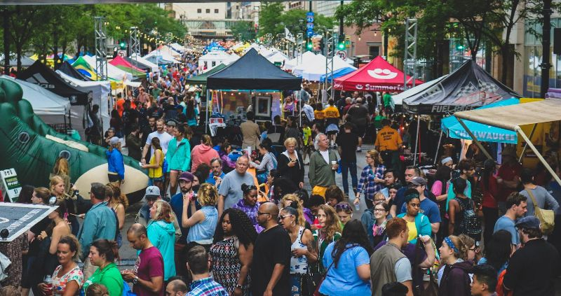 NEWaukee Night Market Returns to Wisconsin Avenue Next Wednesday