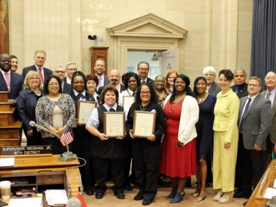 County Board Honors Seven MCTS Bus Drivers for Finding Lost, Missing Children