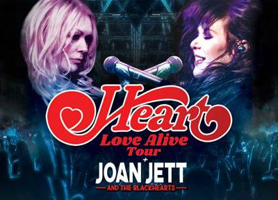 Heart to Perform at Fiserv Forum on Saturday, Oct. 12