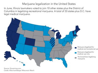 Pot Policies All Over the Map