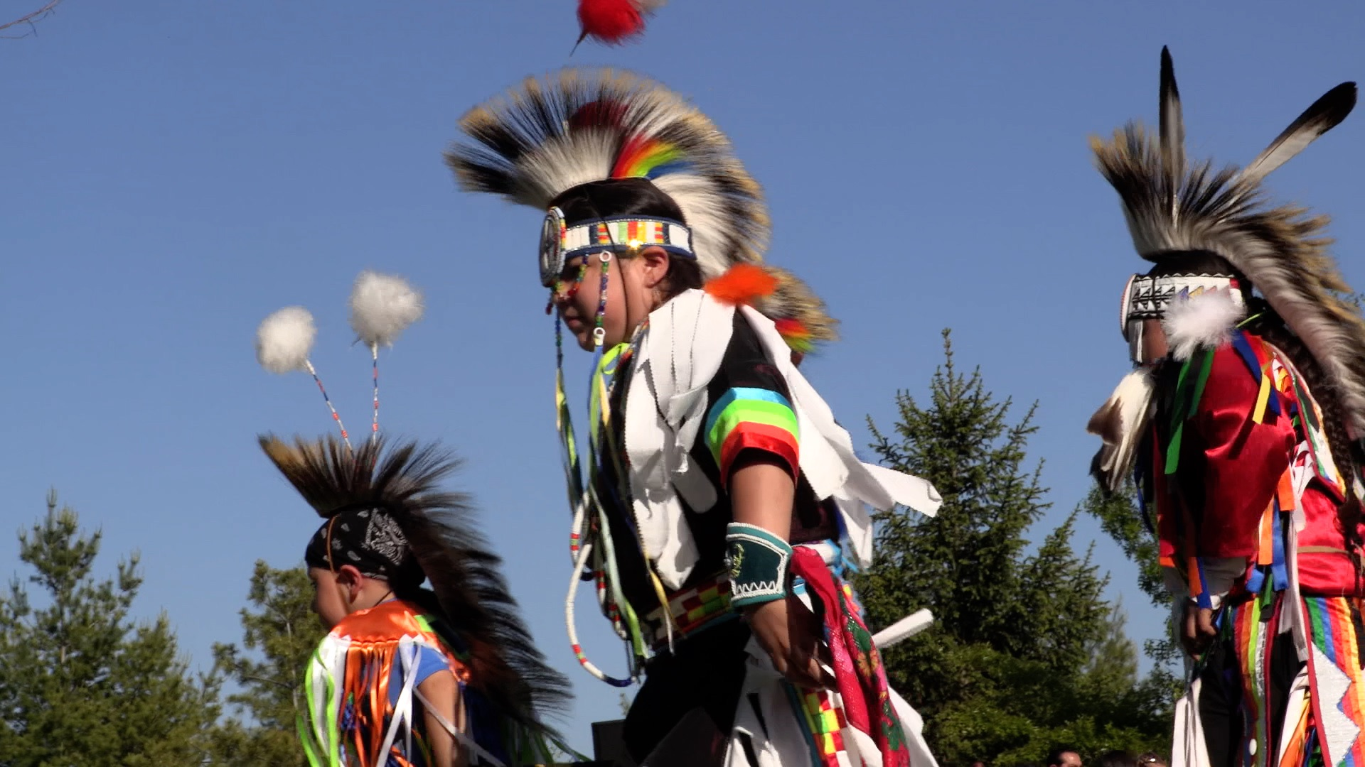Indian Community School end-of-the-year powwow. Photo courtesy of NNS.