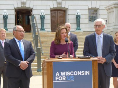 Evers Seeks Ways to Expand Health Coverage