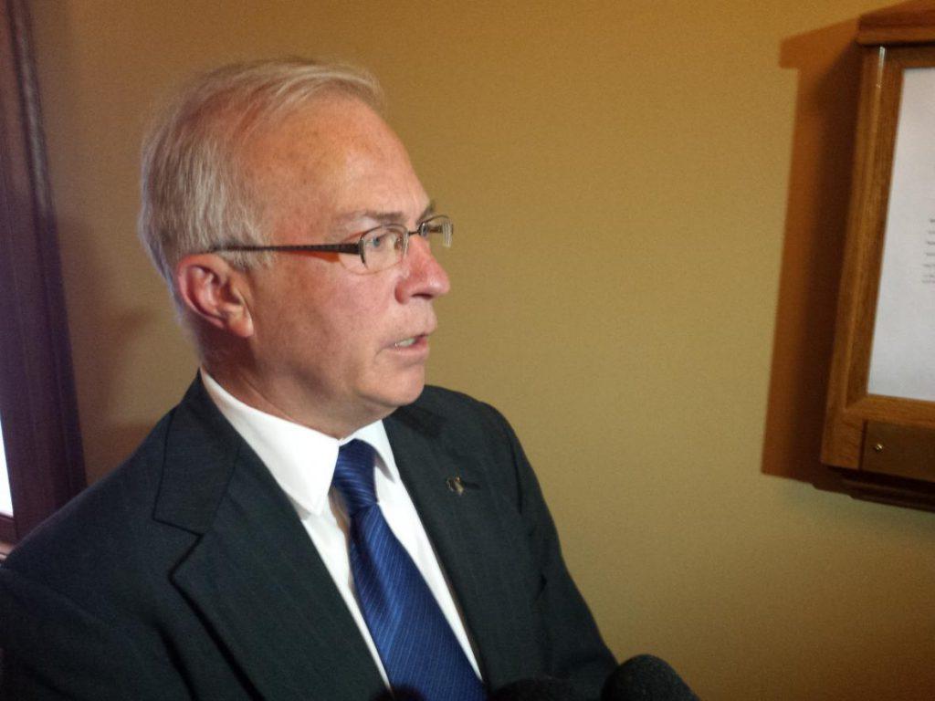 State Sen. Steve Nass, R-Whitewater. Photo by Shawn Johnson/WPR.