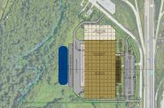 Western Building Products Site Plan. Image from Biohn Building Corporation.
