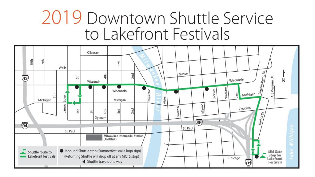 2019 Freeway Flyer Summer Service to Lakefront Festivals