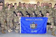 Wisconsin Army National Guard Soldiers. Photo from Wisconsin Department of Military Affairs.
