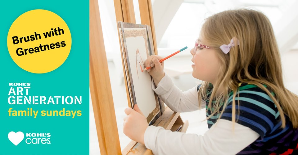 Kids Can Make Art with a Contemporary Artist at Kohl's Art Generation Family Sundays at the Milwaukee Art Museum