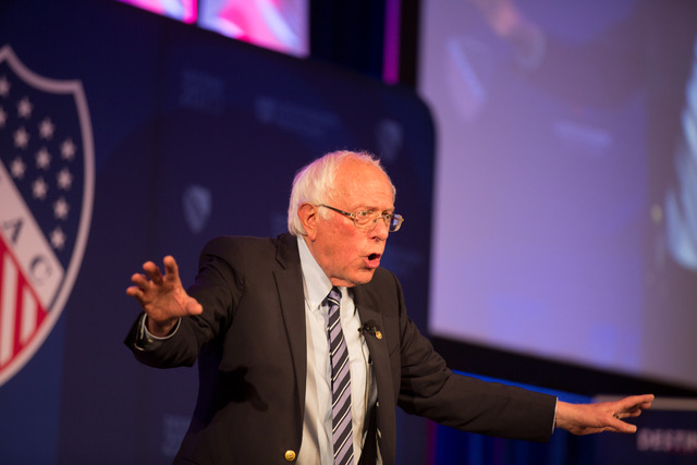 Bernie Sanders. Photo courtesy of Univision.