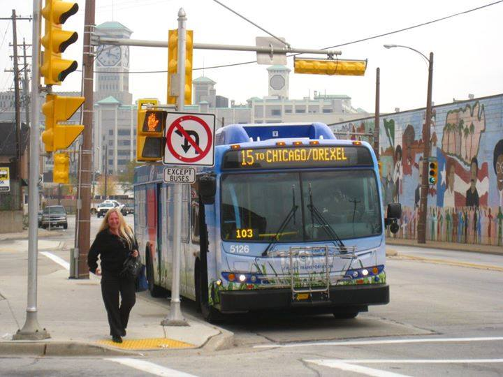 A MCTS bus. Photo courtesy of MCTS.