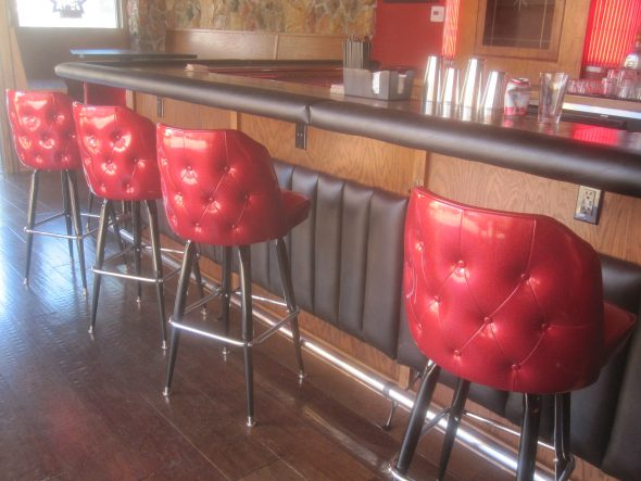 Barstools. Photo by Michael Horne.