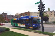 Milwaukee County Transit System bus. Photo by Dave Reid.
