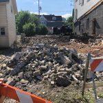 Eyes on Milwaukee: South Wing of Humboldt Gardens Razed