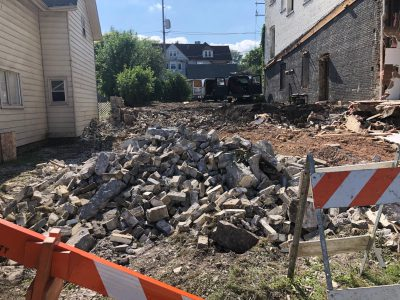 Eyes on Milwaukee: South Wing of Humboldt Gardens Razed