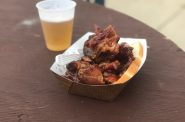 Rib tips from Garfield's 502 at the Garfield Avenue Festival. Photo by Jeramey Jannene.
