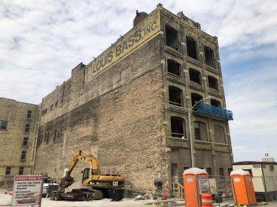 Eyes on Milwaukee: Construction Underway on Louis Bass Apartments