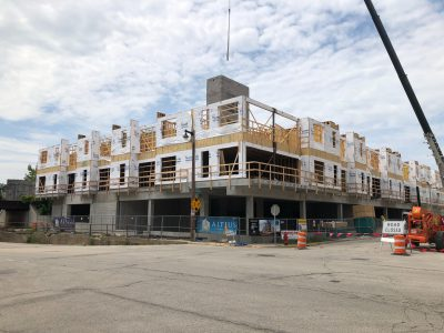 Friday Photos: The Yards Building Takes Shape