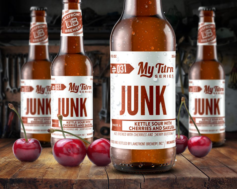 My Turn™ Junk. Photo courtesy of Lakefront Brewery.