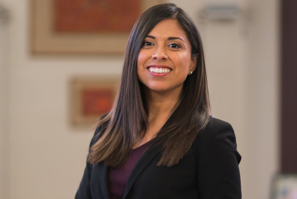 Jennifer López. Photo courtesy of Carmen Schools of Science and Technology.