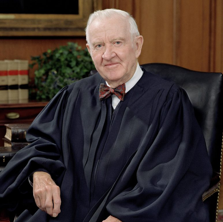 John Paul Stevens. Photo is in the Public Domain.