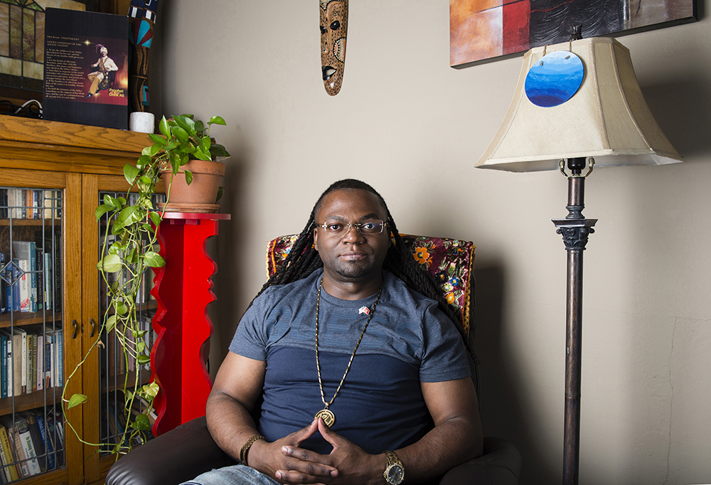 "Caliph Muab-El's story highlights how parole, once seen as a reform, has evolved into a sophisticated form of control and surveillance and is a major factor in the state's mass incarceration. ""As long as you are on parole, you have one foot in the cell and one foot in the free world,"" he says. ""At any time, both feet could be back in jail."" Photo courtesy of Barbara Miner."