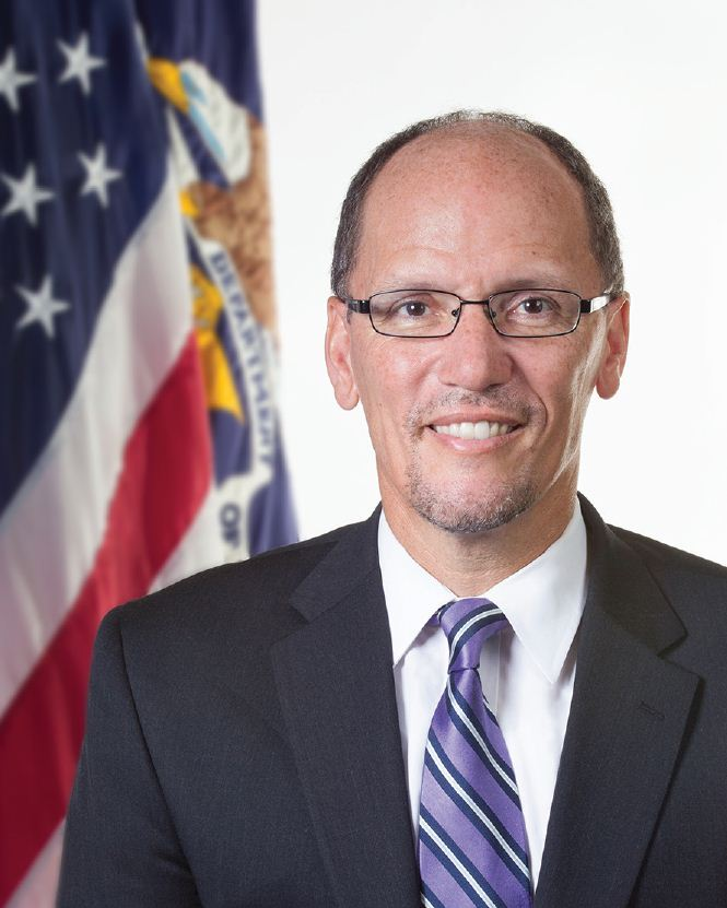 Tom Perez. Photo is in the Public Domain.