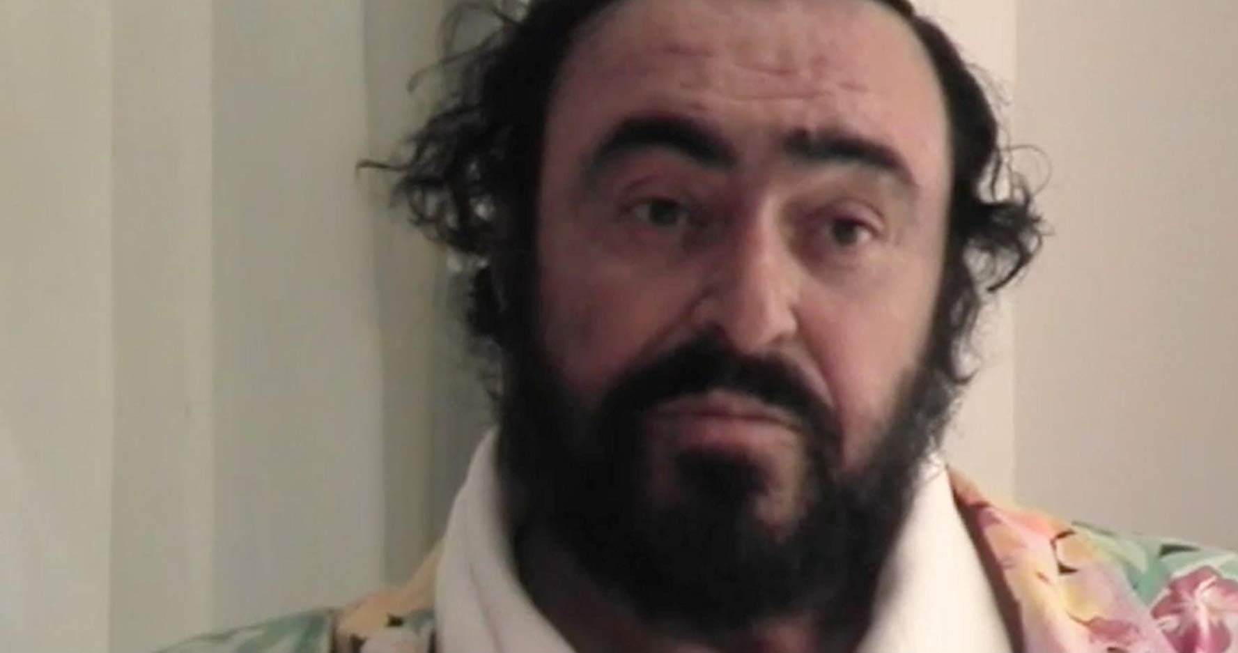 Pavarotti. Photo courtesy of MKE Film.