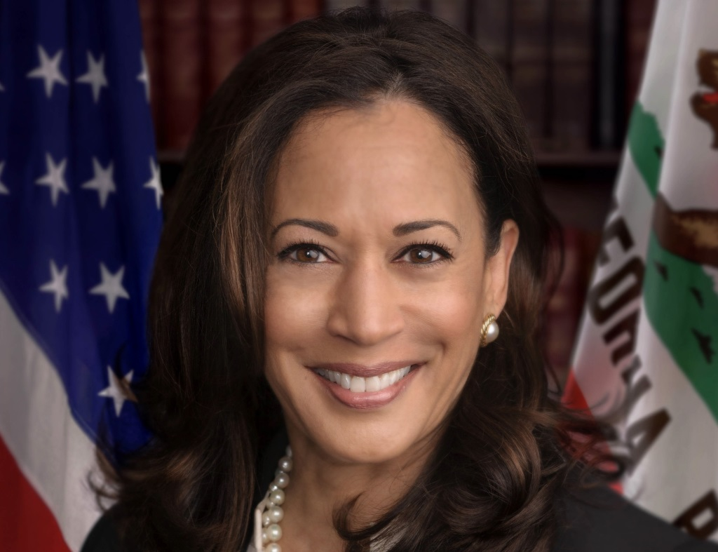 Kamala Harris. Photo is in the Public Domain.