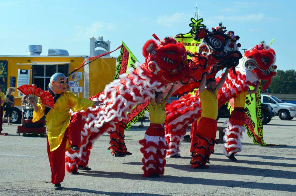 Shaolin Center: Lion Dance. Photo by Jack Fennimore.