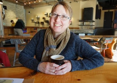 Traci Morgan-Hoernke. Photo courtesy of MOR Bakery and Café.