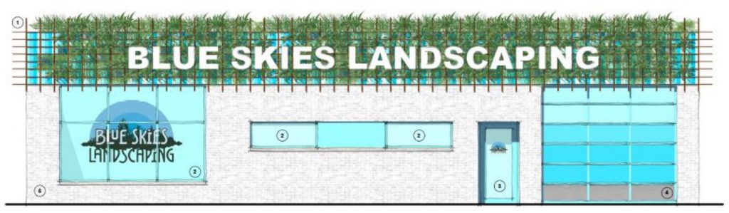 Blue Skies Landscaping. Image from City of Milwaukee report.