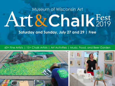 Museum of Wisconsin Art Presents Art & Chalk Fest 2019