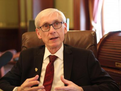 Evers Uses 78 Partial Vetoes on Budget