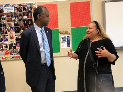 Carson Unveils New Program in Milwaukee