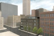 Rendering of the Kinn Hotel. Rendering by Vetter Architects.