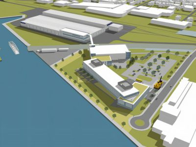 Eyes on Milwaukee: Komatsu Unveils Harbor District Designs
