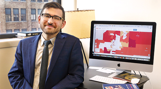Marquette political science professor honored with young scholar award