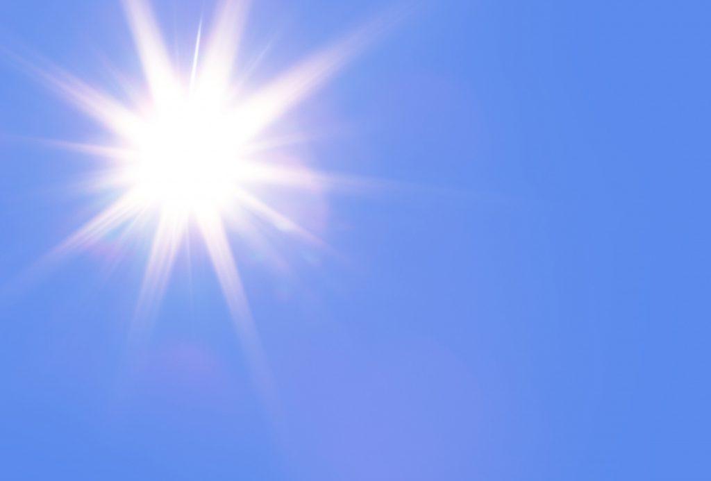 Sunshine. CC0 Public Domain