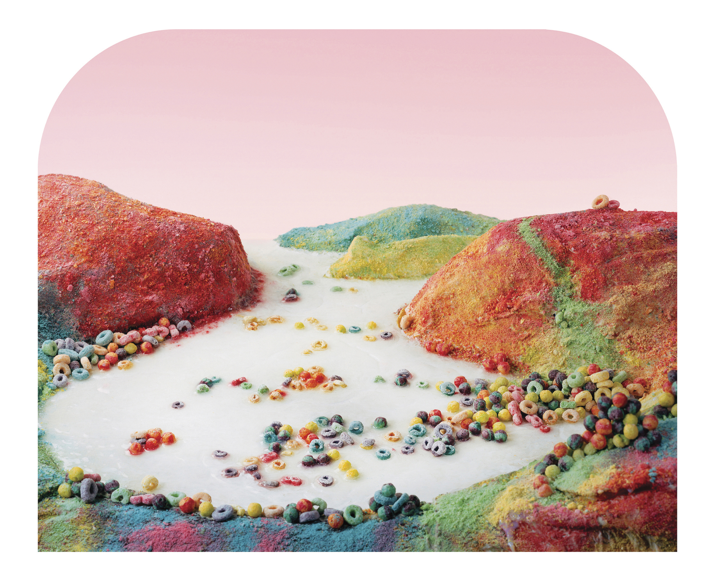 Fruit Loops Landscape, from the series Processed Views: Surveying the Industrial Landscape, 2012-2014 by Barbara Ciurej & Lindsay Lochman