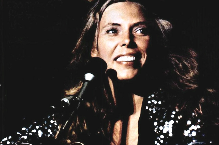 Joni Mitchell in 1974. Photo is in the Public Domain.