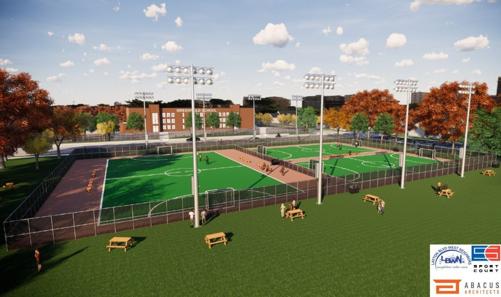 Burnham Park Futsal Courts. Rendering by Abacus Architects.