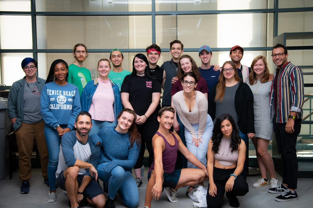 Milwaukee Repertory Theater 2019/20 Emerging Professional Residents. Photo courtesy of the Milwaukee Repertory Theater.