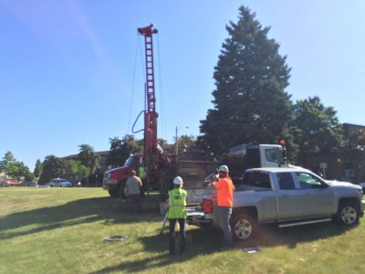 Eyes on Milwaukee: Soil Testing for 32-Story Tower Underway