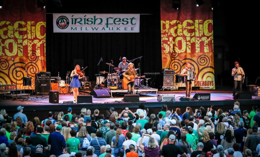 Milwaukee Irish Fest. Photo courtesy of Milwaukee Irish Fest.