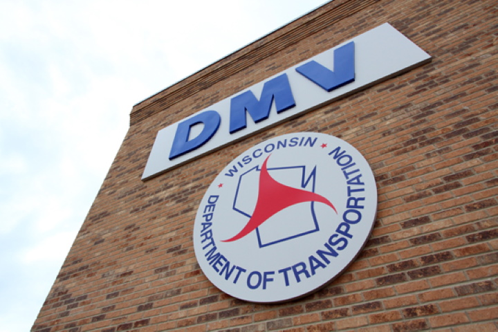 Division of Motor Vehicles (DMV). Photo from the State of Wisconsin.