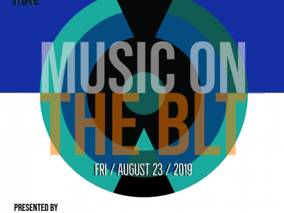 """Riverworks Development Corporation Hosting """"Music on the BLT"""" Music Event Featuring Shle Berry"""