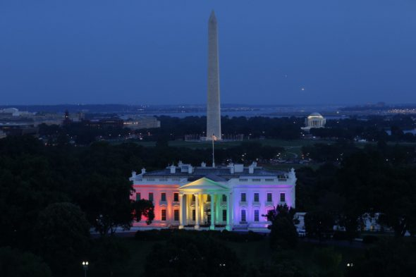 The White House. Photo is in the Public Domain.