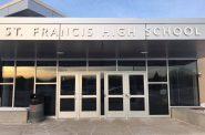 St. Francis High School. Photo from the St. Francis School District.
