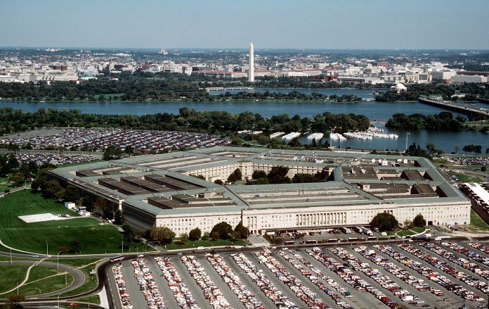 The Pentagon, headquarters of the Department of Defense. Photo by Master Sgt. Ken Hammond, U.S. Air Force.